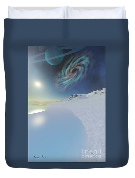 Serenity Duvet Cover by Corey Ford