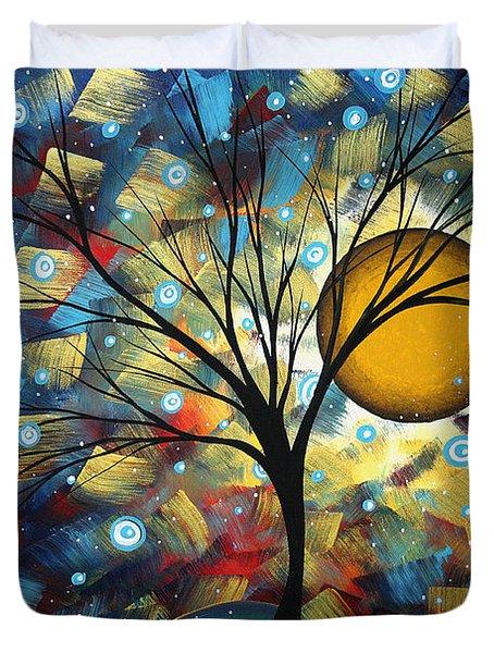 Serenity Falls By Madart Duvet Cover by Megan Duncanson