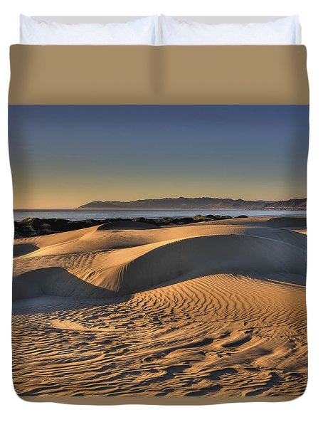 Serenity In The Dunes Duvet Cover