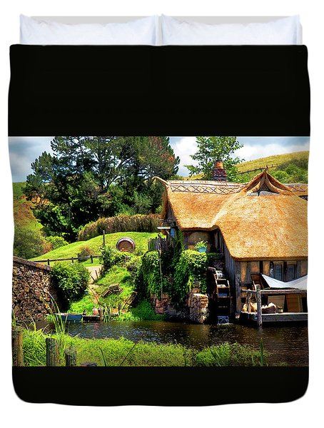 Serenity In The Shire Duvet Cover
