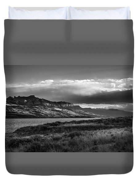 Duvet Cover featuring the photograph Serenity by Jason Moynihan