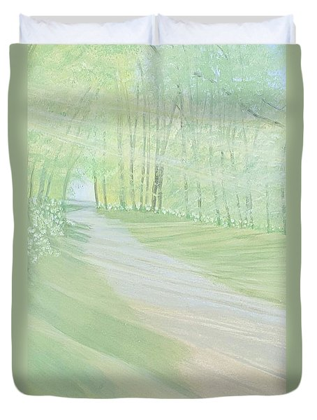 Serenity Duvet Cover by Joanne Perkins