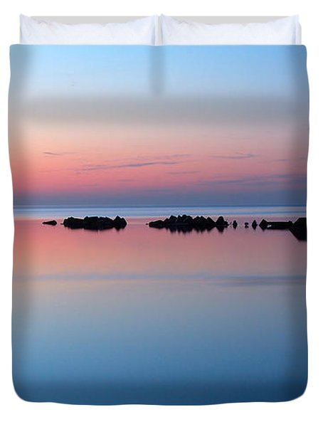Serenity Duvet Cover by Joe  Ng