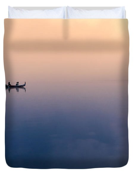 Serenity Duvet Cover by Marji Lang