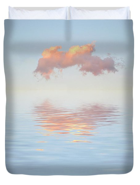 Serenity Now Duvet Cover by Jerry McElroy