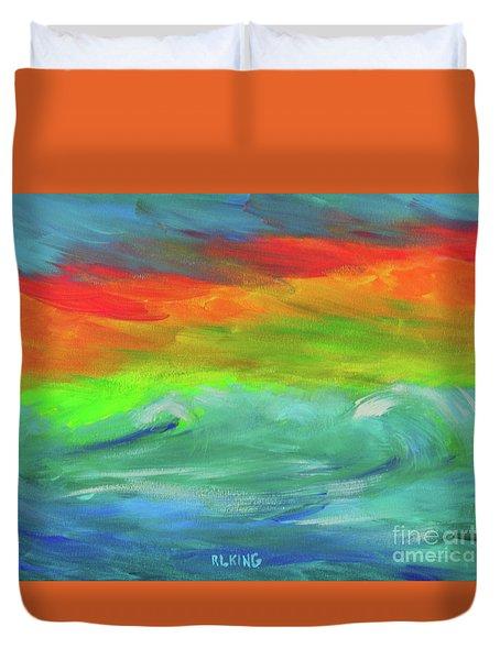 Serenity Sunrise  Duvet Cover
