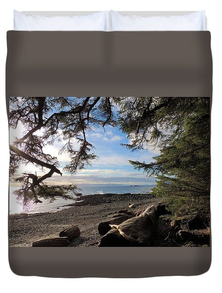 Serenity Surroundings  Duvet Cover