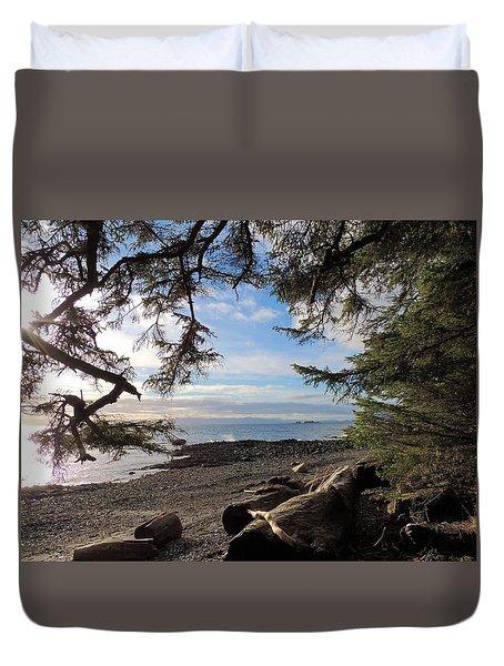 Serenity Surroundings  Duvet Cover