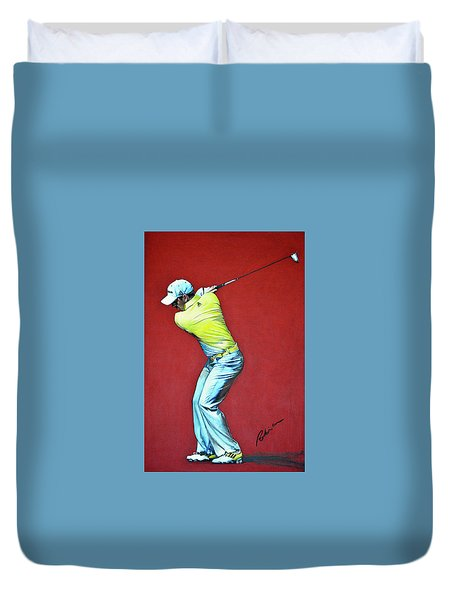 Sergio Garcia By Mark Robinson Duvet Cover by Mark Robinson