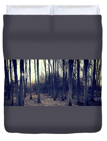 Series Silent Woods 1 Duvet Cover
