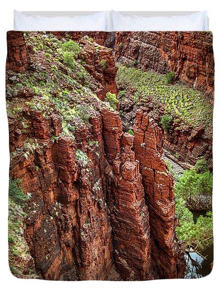 Serious Crags Duvet Cover