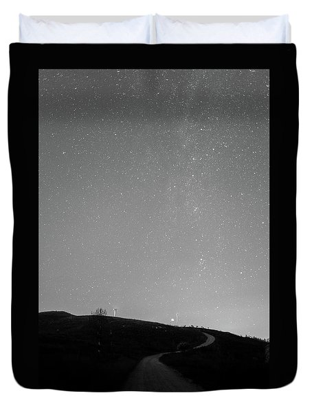 Duvet Cover featuring the photograph Serpent by Bruno Rosa