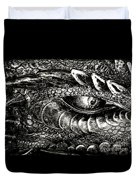 Serpentine Duvet Cover by Catherine Melvin