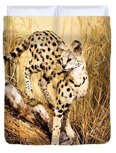 Serval Duvet Cover