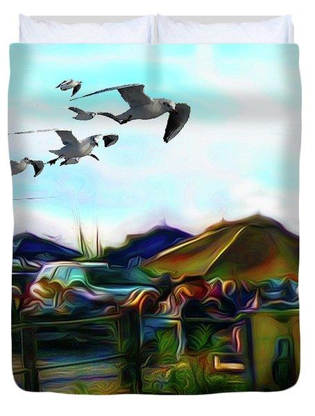 Sesuit Tetraptych 1 Duvet Cover