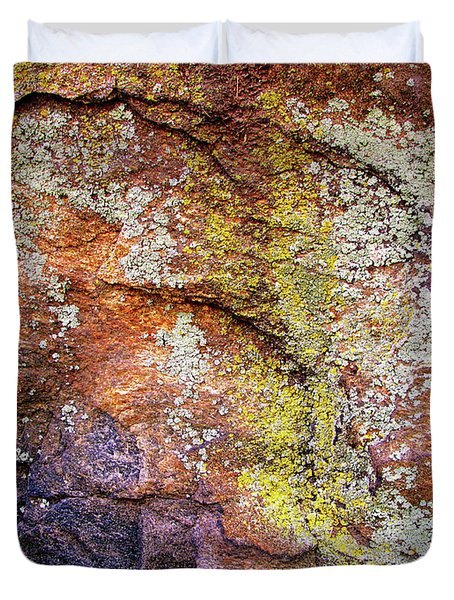 Set In Stone II Duvet Cover