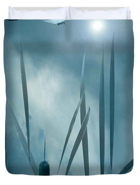 Set The Controls For The Heart Of The Sun Duvet Cover