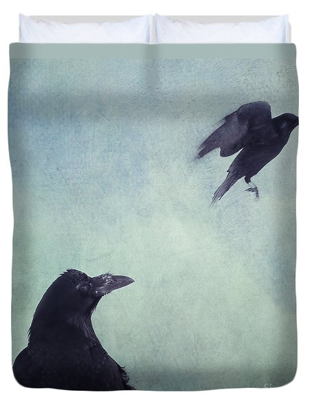 Set Your Mind Free Duvet Cover by Priska Wettstein
