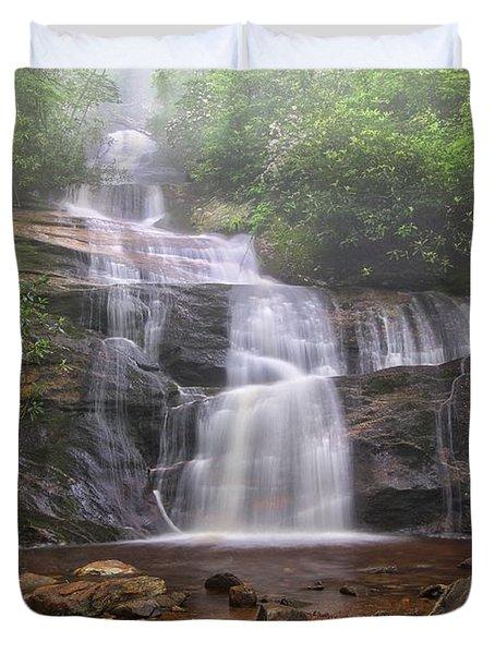 Setrock Creek Falls  Duvet Cover