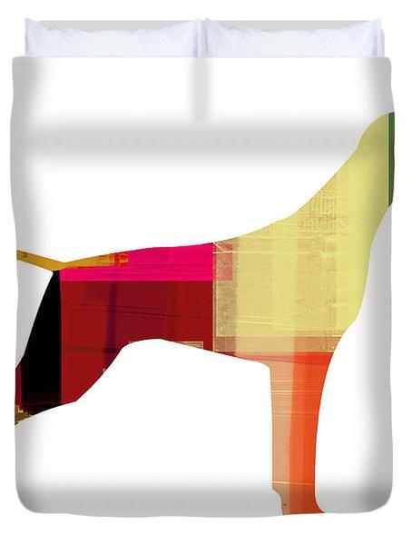 Setter Pointer Duvet Cover by Naxart Studio