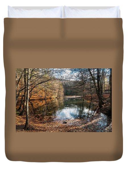 Seven Lakes Duvet Cover