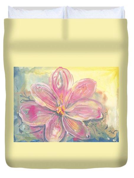 Seven Petals Duvet Cover