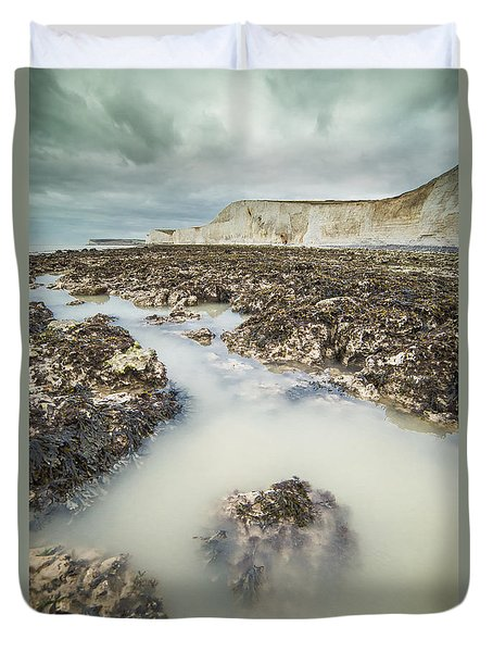 Seven Sisters England Duvet Cover