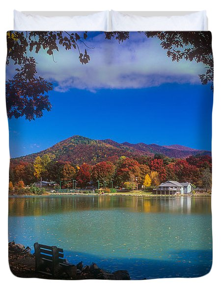 Seven Sisters From Lake Tomahawk Duvet Cover