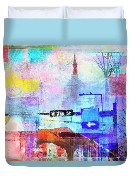 Seventh Street Duvet Cover