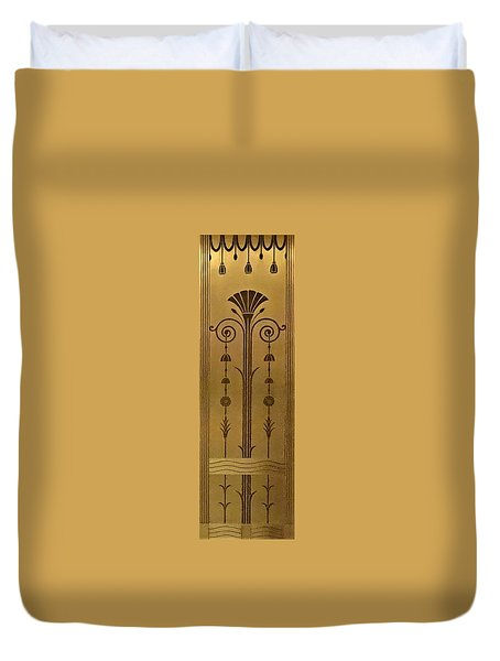 Severance Hall Art Deco Panel Duvet Cover