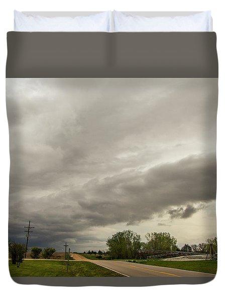 Severe Nebraska Weather 013 Duvet Cover