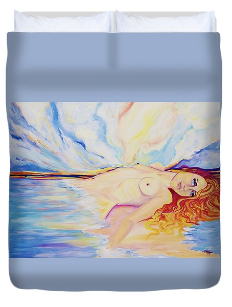Sex On The Beach Duvet Cover