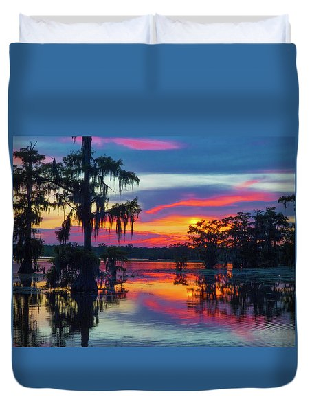 Swamp Sexy Duvet Cover