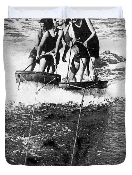 Sf Aquaplane Lovers Duvet Cover