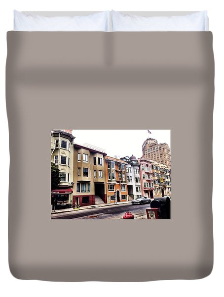 Sf Character Duvet Cover