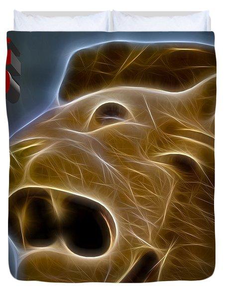 Sg50 Merlion Duvet Cover