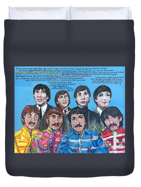 Sgt.pepper's Lonely Hearts Club Band Duvet Cover