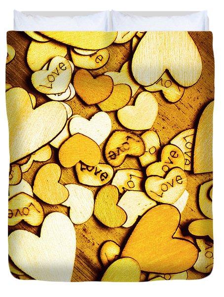 Shabby Love Artwork Duvet Cover