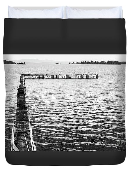 Shabby Nautical Style Duvet Cover