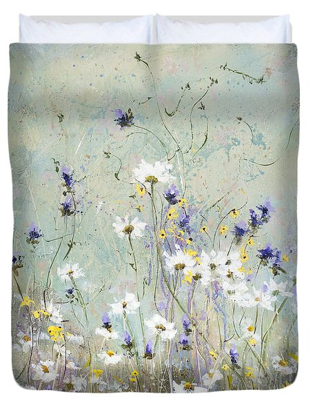 Shabby Ten Duvet Cover by Laura Lee Zanghetti