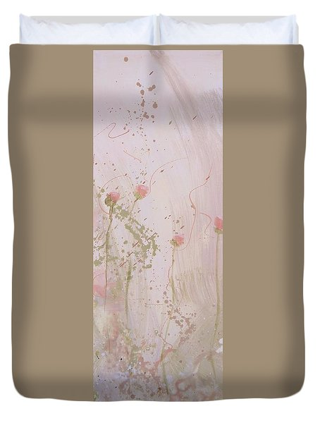 Shabby Triptych Three Duvet Cover