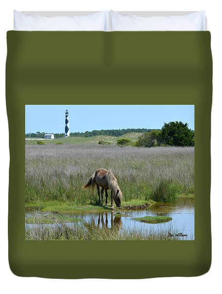 Shackleford Pony Duvet Cover