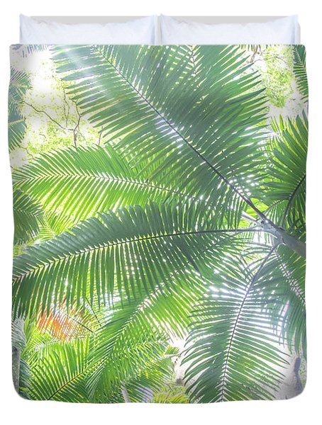 Shade Of Eden  Duvet Cover