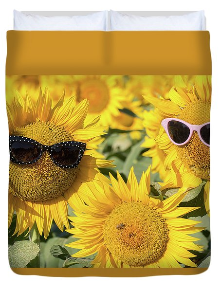 Shades Duvet Cover