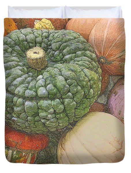 Shades Of Autumn Duvet Cover