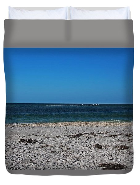 Duvet Cover featuring the photograph Shades Of Blue by Michiale Schneider