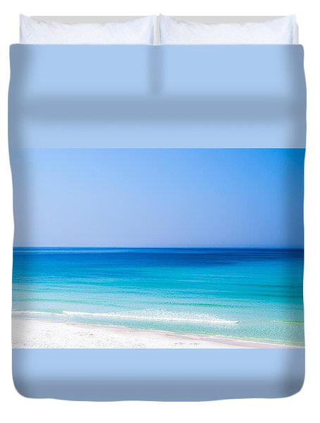 Shades Of Blue Duvet Cover by Shelby  Young