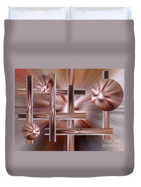 Shades Of Coffee Duvet Cover