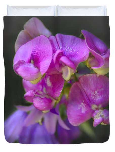 Shades Of Purple Duvet Cover