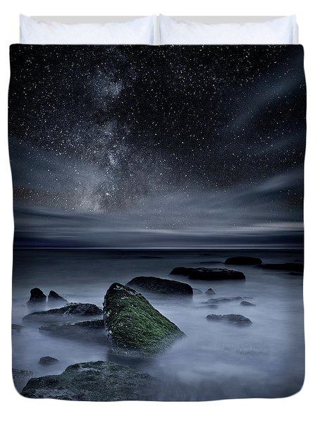 Shades Of Yesterday Duvet Cover by Jorge Maia
